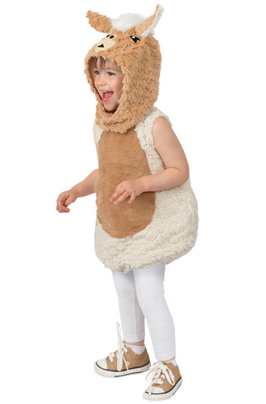 Lenny The Llama Cute Animal Soft Furry Baby Infant Toddler Costume 18 months