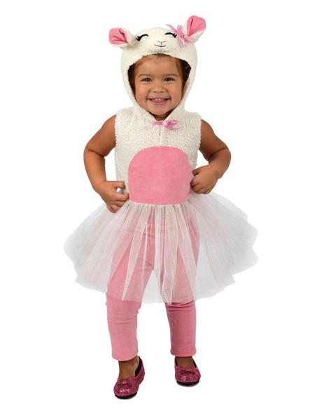 Princess Paradise Liza The Lamb Costume Dress Farm Animal Sheep Toddler Girls