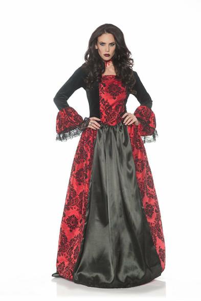 Eternity Vampiress Queen Ball Gown Mistress Gothic Adult Women's Costume SM-XL