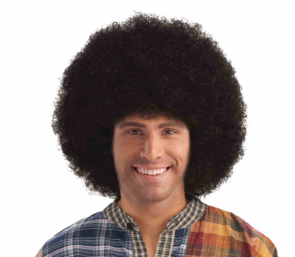 Afro Wig Black Retro Disco Halloween Costume Accessory Prop 70's 80's Curly New