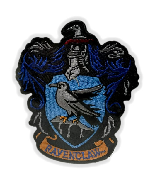 Harry Potter Ravenclaw House Crest Applique Patch Embroidered Iron-On