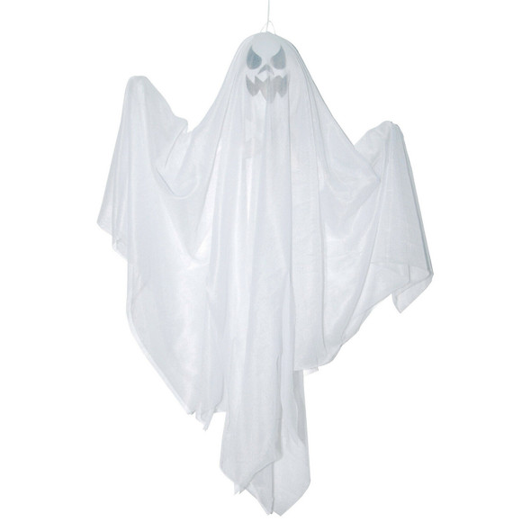 "18"" Spooky Spirit Ghost Hanging Halloween Party Decoration Haunted House Prop"