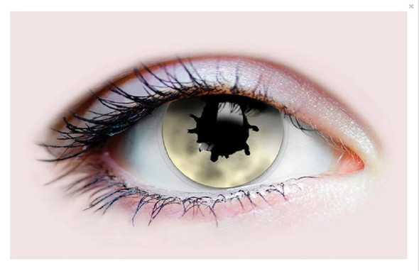 Primal Costume Contact Lenses Costume Contagion I Cosplay Make-up Anime