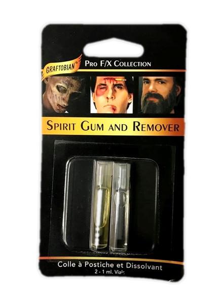 Graftobian Spirit Gum & Remover Theatrical Adhesive Professional Costume Make up