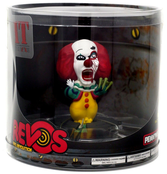 Revos Pennywise It Clown Vinyl Figure Wobbling Collectible Horror Movie Wave 1