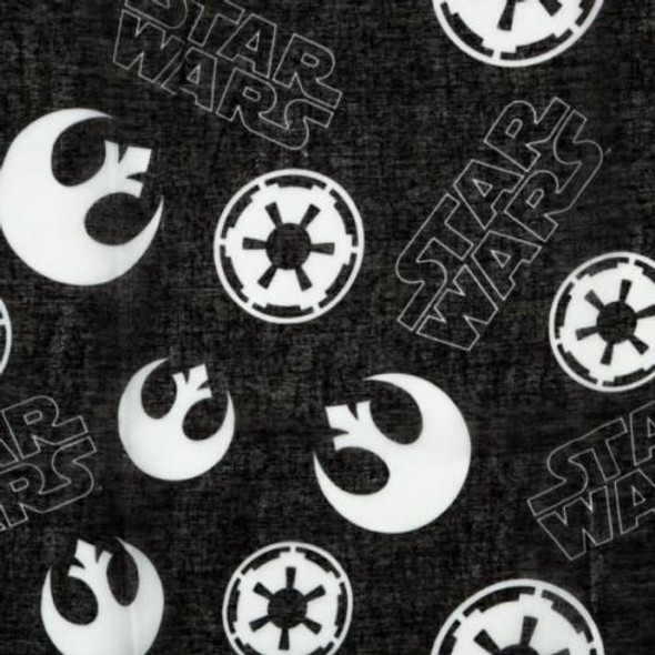 Star Wars Rebel Alliance Symbol Fashion Viscose Scarf Licensed Lightweight Shawl