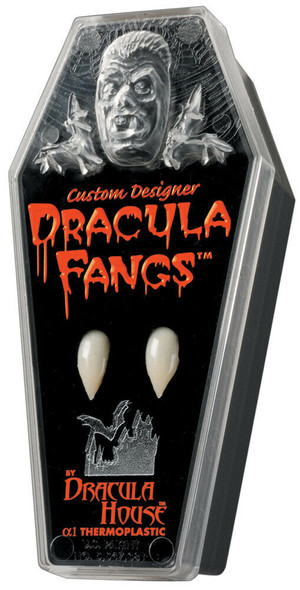 Foothills Creations Large Custom Dracula Fangs Vampire Thermoplastic Adult