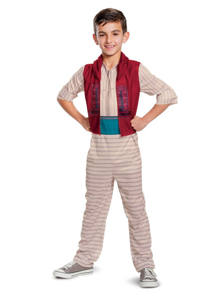 Disney Aladdin Movie Licensed Boys Child Costume & Hat Live Action XS-MD