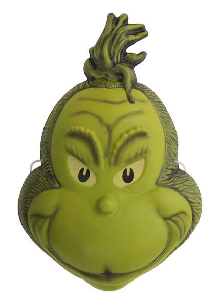 How the Grinch Stole Christmas PVC Mask Dr. Seuss Adult Costume Accessory