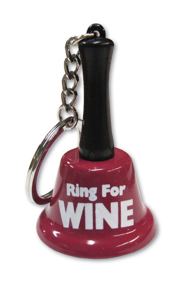 Ring For Wine Mini Bell Key Chain Key Ring Keychain Metal Adult Novelty Gift