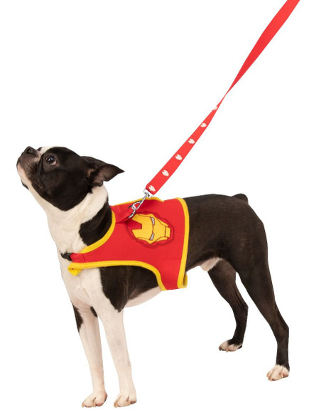 Rubies Avengers Marvel Iron Man Dog Harness & Leash Pet Costume Accessory Small
