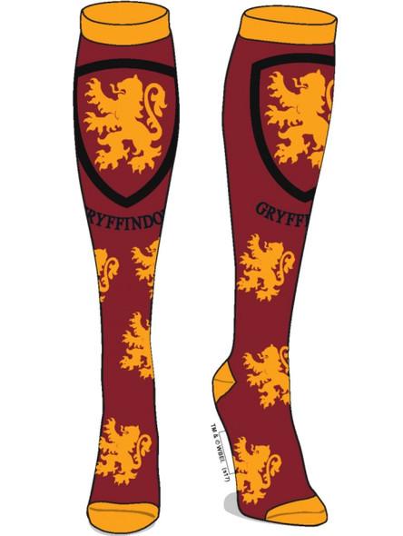 Harry Potter Gryffindor Knee High Socks Adult Children Crest Sock Sz 9-11