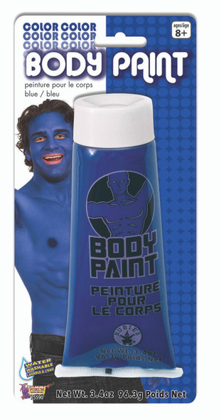 Blue Body Paint Makeup Adult Halloween Costume Accessories Water Washable