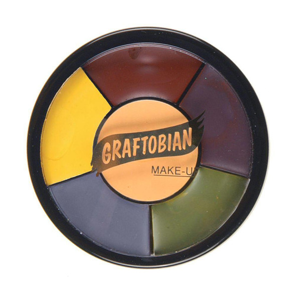 Graftobian Pro F/X Collection Injury Bruise Grease Wheel Latex Appliances Makeup