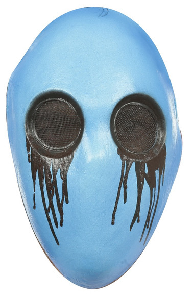 Eyeless Jack Latex Blue Mask Black Tears Creepypasta Serail Killer Cannibalistic
