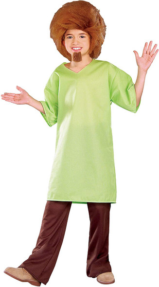 Scooby-Doo Classic Shaggy Rogers Child Costume Licensed Cosplay Boys SM-LG