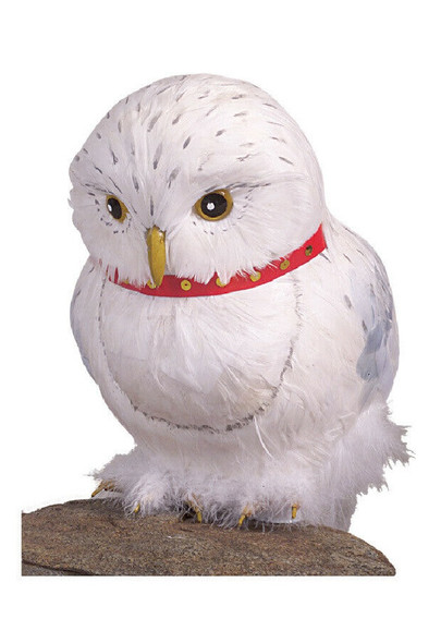 Harry Potter Hedwig The Owl White Feathers Prop Licensed Costume Accessory