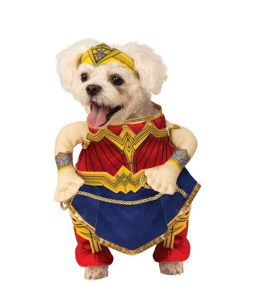 DC Comics Wonder Woman Pet Animal Dog Halloween Cosplay Costume SM-XL