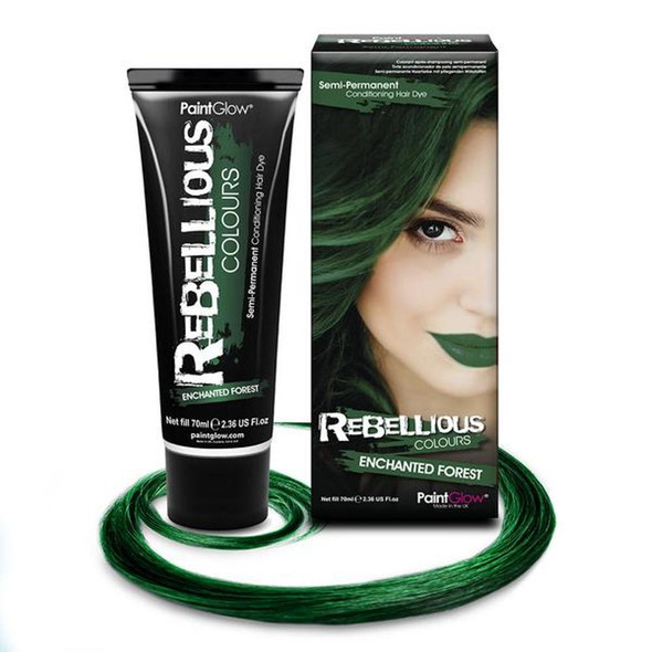 Paint Glow Rebellious Enchanted Forest Semi-Permanent Hair Dye Bright Fantasy
