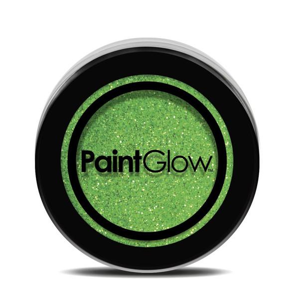 Paint Glow UV Neon Green Glitter Shaker Makeup Bright Festival Party