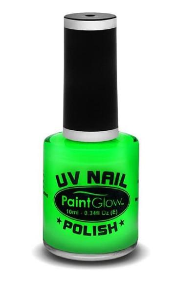 Paint Glow UV Neon Nail Polish Make-up Bright Festival Club 12ml Green