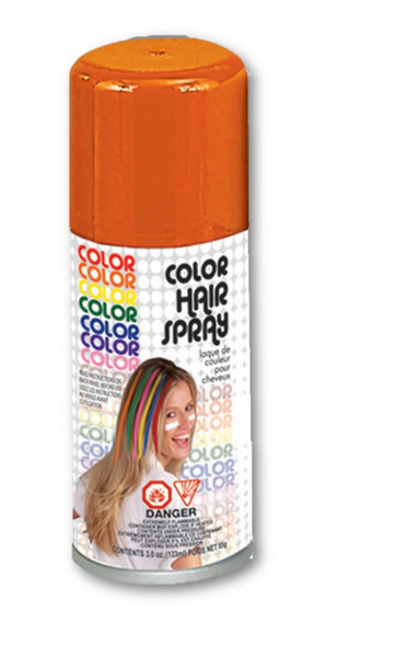 Bright Color Hair Spray Orange Temporary Hair Color Costume Accessory Make-Up
