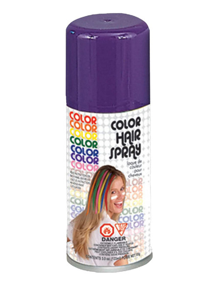 Bright Color Hair Spray Purple Temporary Hair Color Costume Accessory Make-Up