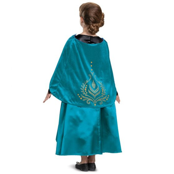 Disney Frozen II Queen Anna Deluxe Princess Gown Child Costume Halloween XS-MD