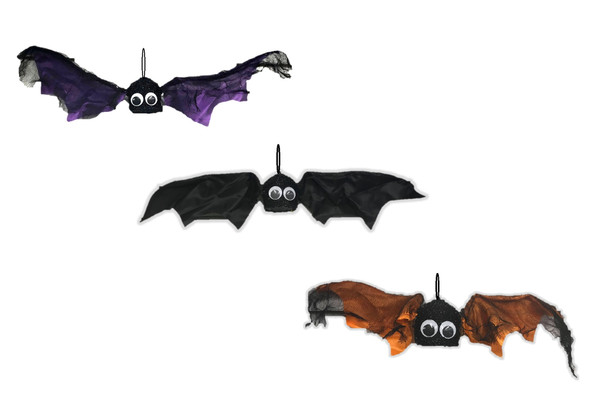 The Gothic Collection Adorable Shaking Batty Bat Halloween Decor Prop w Sound