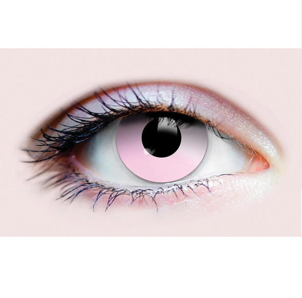 Primal Costume Contact Lenses Costume Cotton Candy Pink Cosplay Make-up Anime