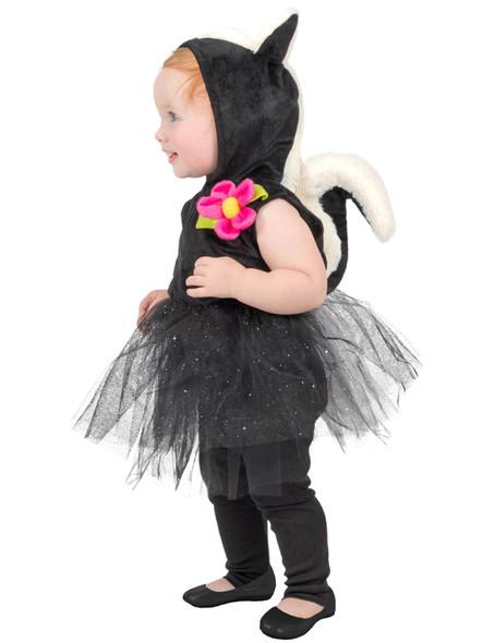 Princess Paradise Sweet Stinker Skunk Dress & Leggings Toddler Costume 18 Months