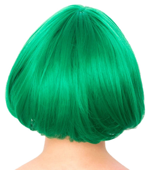 Gothic Lolita Wigs Lolibob Bob Emerald Jade Green Anime Cosplay Character Wig