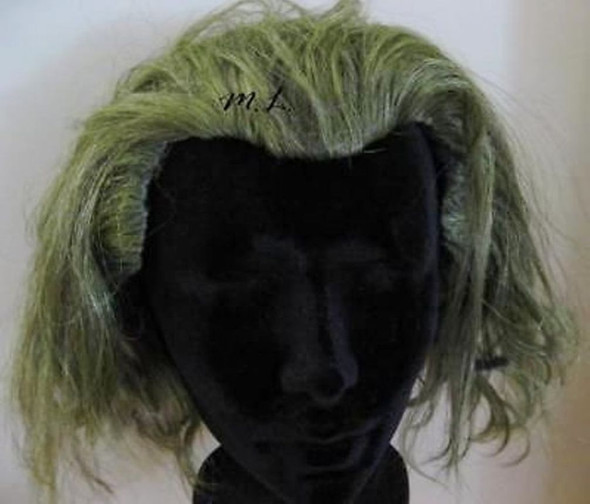 Child Joker Wig Dark Knight Ledger Batman Movie Boys Halloween Costume Accessory