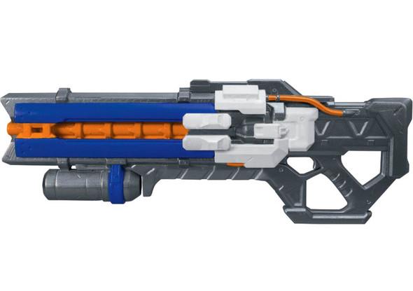 """22"""" Overwatch Soldier:76 Pulse Blaster Gun Plastic Weapon Halloween Costume Prop"""