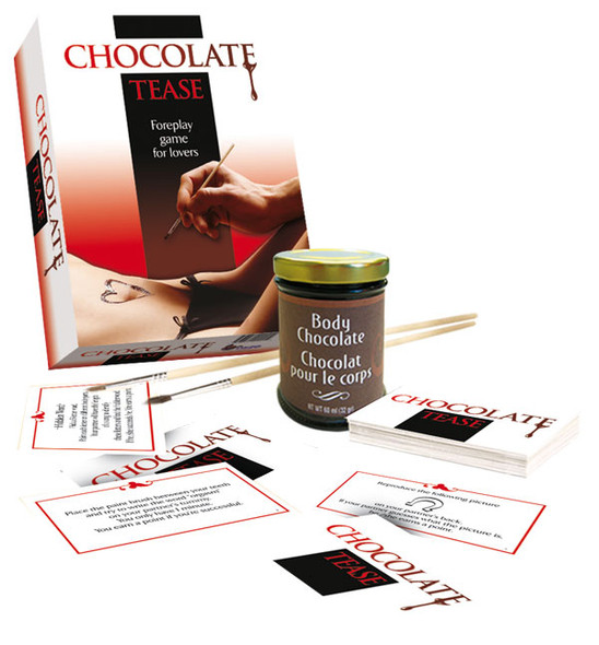 Chocolate Tease Foreplay Game For Lovers Edible Sexy Time For Adults Men & Women