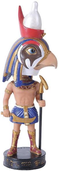Horus Deity Egyptian Pharaoh Bobblehead Figurine Decoration Bobble Head Statue