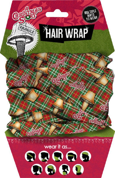 Spoontiques A Christmas Story Hair & Face Wrap Multiple Ways To Wear Accessory