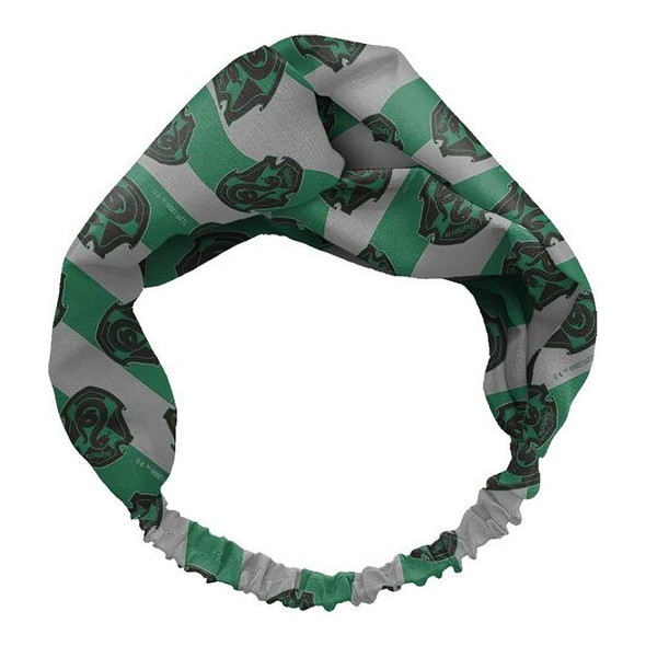 Spoontiques Harry Potter Slytherin House Knotted Criss Cross Headband Hair Band