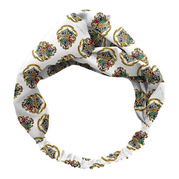Spoontiques Harry Potter Hogwarts Crest Knotted Criss Cross Headband Hair Band