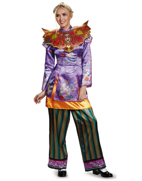 Disney Alice Through The Looking Glass Deluxe Asian Look Women's Costume SM 4-6