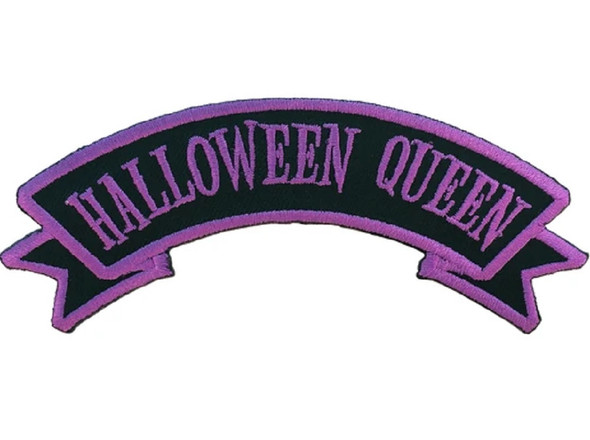 Kreepsville 666 Scare Wear Halloween Queen Embroidered Arch Patch Iron Or Sew On
