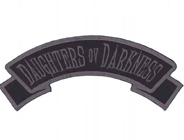 Kreepsville 666 Daughters Ov Darkness Embroidered Arch Patch Iron Or Sew On