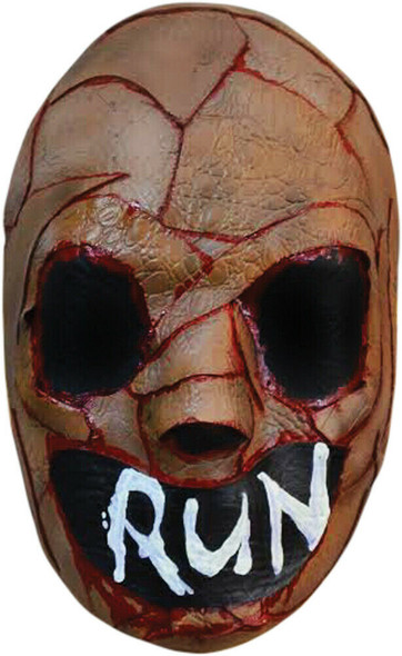 Trick or Treat The Purge Run Vacuform Mask Election Year Adult Molded Plastic