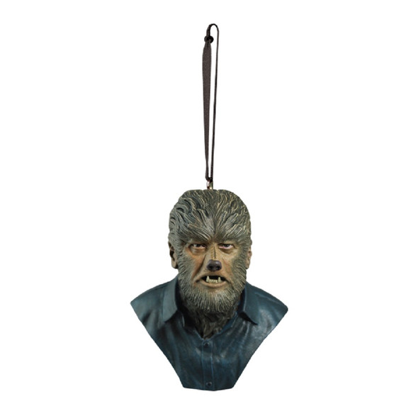 Trick or Treat Holiday Horrors The Wolf Man Christmas Tree Ornament Werewolf