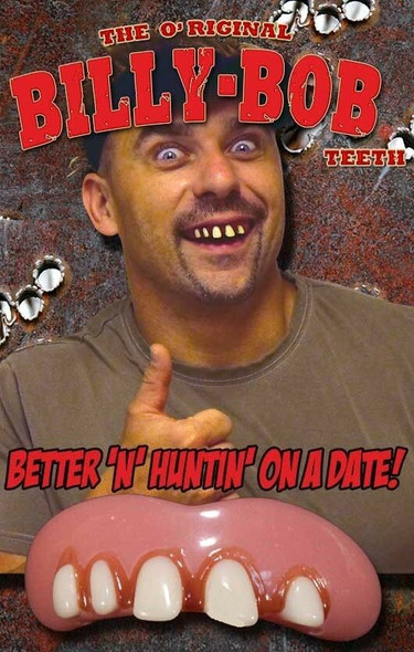Billy-Bob The Original Redneck Teeth Ugly Rotting Custom Fit Fake Teeth New