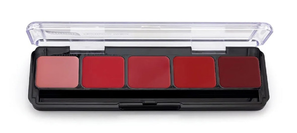 Graftobian Make-Up High Definition HD Hi-Def Lip Color Palette Cool 30285