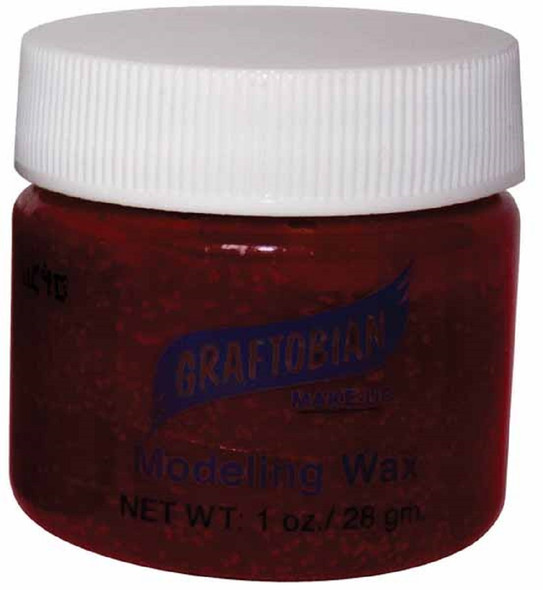 Graftobian Theatrical Modeling Wax Blood Color Pro Make-Up Special Effect 1oz