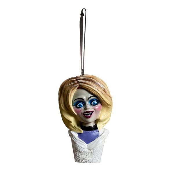 Trick or Treat Holiday Horrors Seed Of Chucky Glenda Bust Tree Ornament
