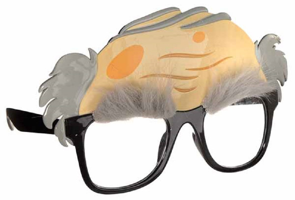 Old Man Fun Shades Novelty Glasses Over The Hill Grandpa Disguise Gag Gift