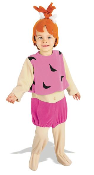 The Flintstones Baby Pebbles Toddler 2-4 Child Halloween Costume Licensed